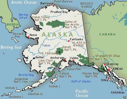Travii Alaska Maps Maps Of Alaska - Maps of alaska